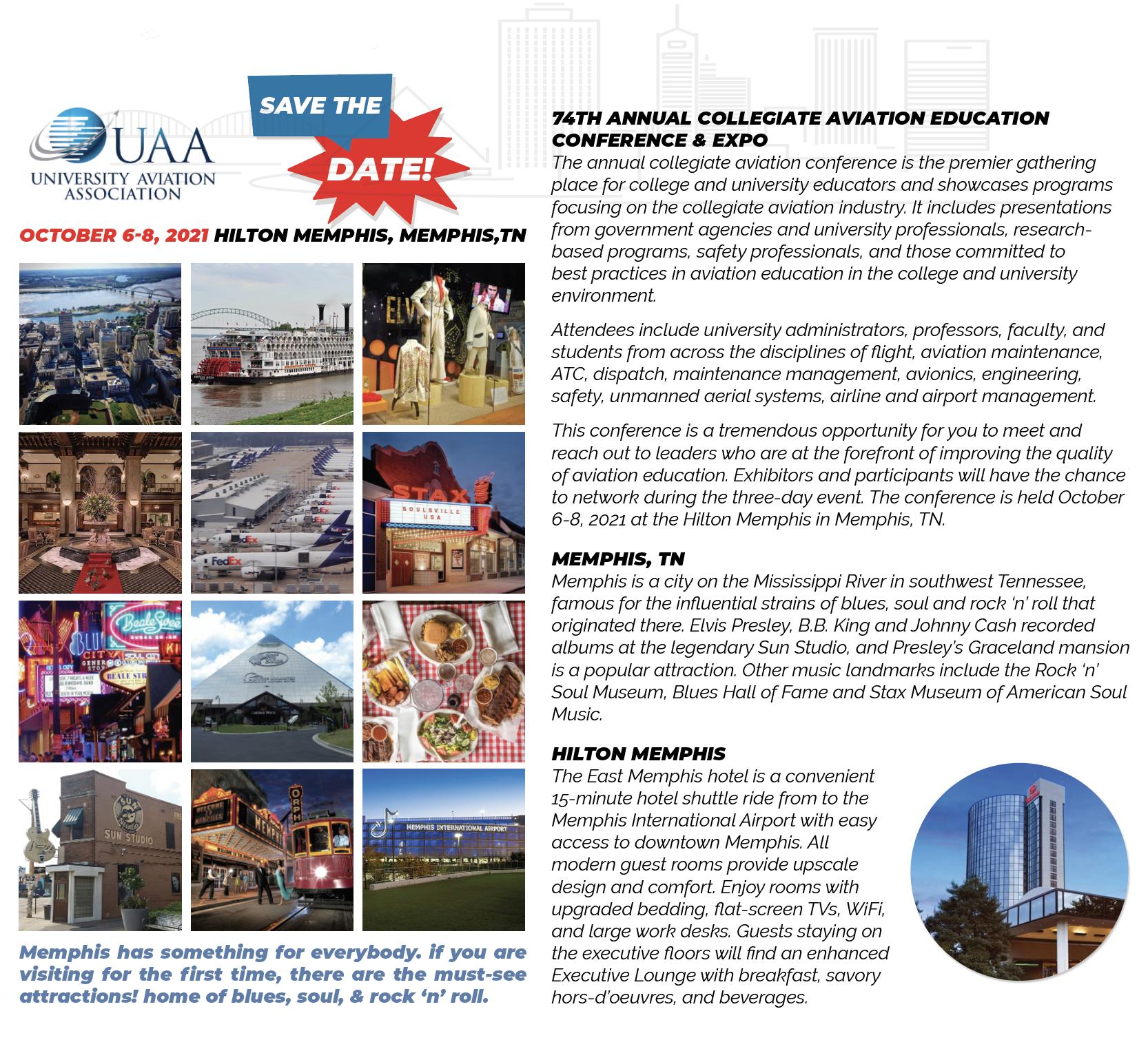 2021 Annual Collegiate Aviation Conference & Expo - University